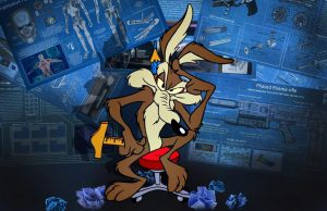 Wile E Coyote Medium