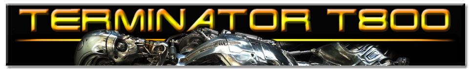 Terminator T800 Body Title